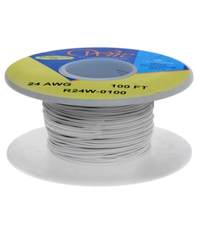 R24W-0100 - Rolo Fio Wire Wrapping 30.5mt - 359841