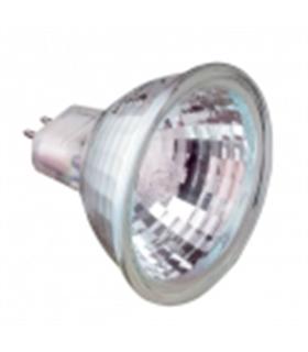 Lâmpada Halogénio Dicroica 12V 50W MR16 50mm GX5.3 - L1250