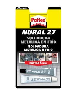 Pattex Nural 27 Soldadura Metalica a Frio - NURAL27