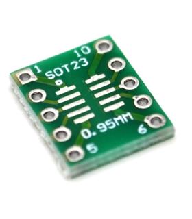 SOT23DIP - Adaptador Sot23 Para Dip - SOT23DIP