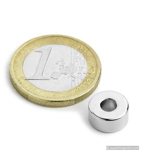 Iman -  Anel Magnetisado em Neodimio, N42 - 2.2Kg - MXRR100405N