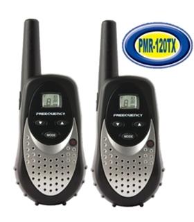 Par Radios Pmr 446 Com Carregador e Bateria - MICRO120TX