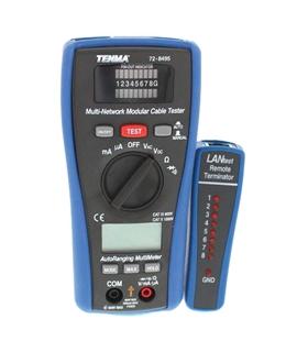 Multimetro c/ Testador de Redes TENMA - 72-8495