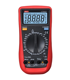 UT890D - Multimetro digital 600V True RMS - UT890D