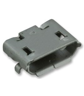 MICRO USB B, RECEPTACLE, SMT, RA, 5WAY - MUSBCI3