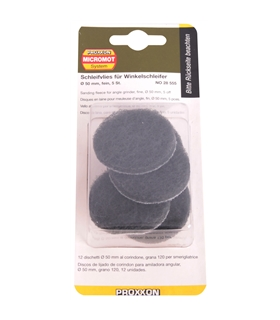 28555 - Discos de polimento fino para LHW Ø50mm, 5un - 2228555