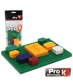 PKBB08A - Placa de Ensaio Multifunçoes 425 Pontos 8 Modulos - PKBB08A