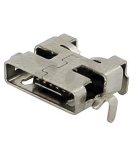 Ficha Micro Usb para Circuito Impresso - MUSBCI12
