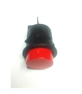 Interruptor de Pressao Vermelho Grande Redondo OFF-(ON) - MX0100582