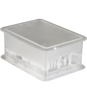 TEK-RPI-XL.0 - Caixa Transparente p/Raspberry B+ e B2 - Teko - TEK-RPI-XL.0