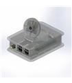 Caixa Transparente Raspberry B+ e B2 com Suporte p/Camara - TEK-CAM+.0
