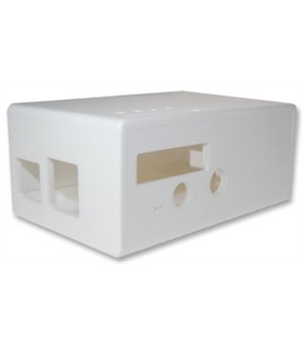 CBRPF-WHT-C - ENCLOSURE, PI FACE DIGITAL, WHT, CUTOUT - CBRPFWHTC