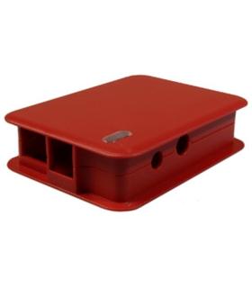TEK-BERRY.24 - Caixa Vermelha para Raspberry Modelo B - TEKO - TEK-BERRY.24
