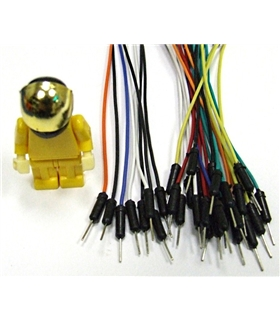 1 Pin Dual-Male Breadboard Jumper Wire - MX120530005
