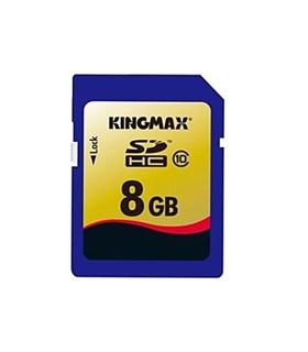 Cartão de memória 8Gb SDHC Class10 KingMax - SDHC8GBK