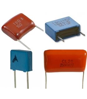 Condensador Poliester 820nF 400V - 316820400