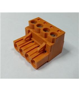 BL 5.08/4 - TERMINAL BLOCK, PLUGGABLE, 4P, 26-14AWG - 69BL508/4
