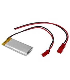 LP403035 - Bateria Polimeros 3.7V 400mAh 4x30x35mm com cabo - LP403035