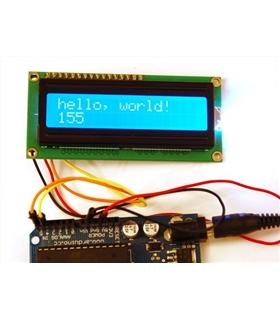 LCD 16 x 2 Linhas Serial - MXLCD16X2S