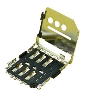 78800-0001  MICRO SIM, PUSH-PULL, 1.4MM, SMT - 78800-0001