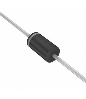 BAX12 - Diodo Silicon 400mA, 90V, DO-201AD - BAX12
