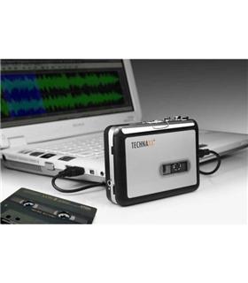 DT01 - Gravador Digital Cassetes Para Mp3 - DT01