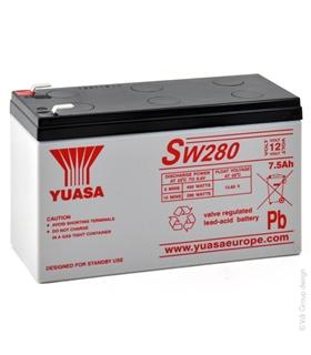 SW280 - Bateria de Chumbo Yuasa / Pb / Lead Acid - 12V 9.0A - NPX35Y