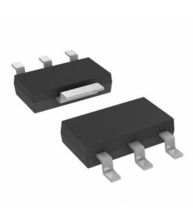 LD1117S50CTR - IC, V REG, LDO 5V, SMD - LD1117S50