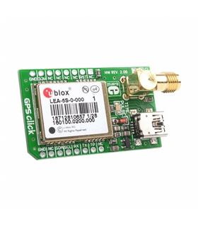 MIKROE-1032 - ADD-ON-BOARD, GPS CLICK - MIKROE-1032