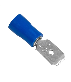 Terminal macho isolado azul - 69TMI