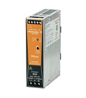 Alimentador: impulsos 72W; 24VDC; 3A; 100÷240VAC; 120÷370Vdc - 1469470000