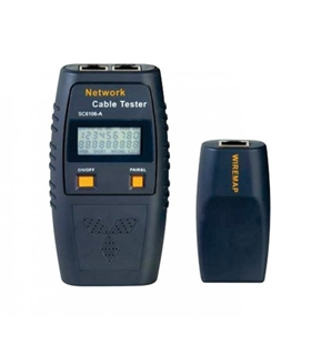 SC-6106 - TESTADOR DIGITAL CABOS DE REDE CAT5 e CAT6 - SC6106