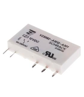 Rele 12V 6A 1CO SPDT - V23092A1012A301