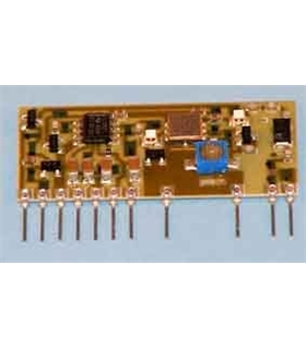 C-0505 - Modulo RF Emissor de Audio 433,62Mhz 10mW - C-0505