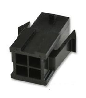 MX-43020-0400 - Ficha Molex MicroFit 4 Pinos Macho - 69MF4M