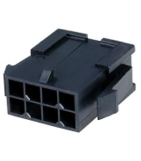 MX-43020-0800 - Ficha Molex MicroFit 8 Pinos Macho - 69MF8M