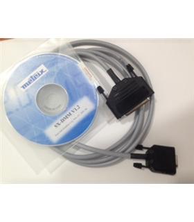 SX-DMMBT-B - Cabo de Dados e Software Para Multimetro Metrix - SXDMMBTB