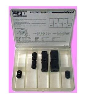C-9441 - Caixa Com 8 Filtros em Ferrite - C-9441