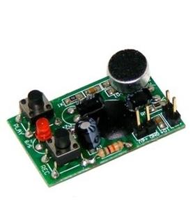 C-9701 - Gravador/Reproductor de 1 Mensagem até 16 Segundos - C-9701