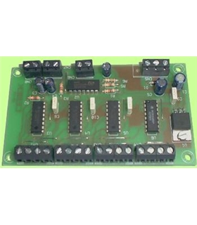 CD-14 - Placa de Control para 4 Digitos - CD-14