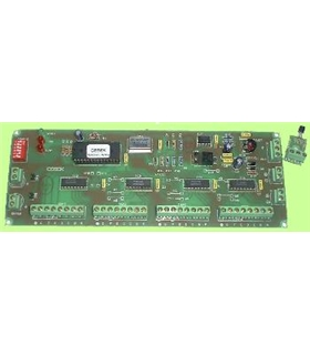 CD-25 - Placa de Controlo para Display, Relogio+Termometro - CD-25