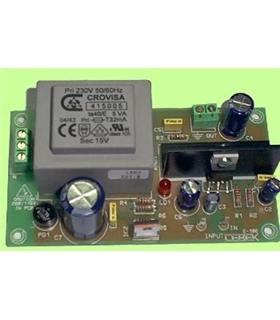 E-102 - Amplificador Mono 5W 230Vac - E-102