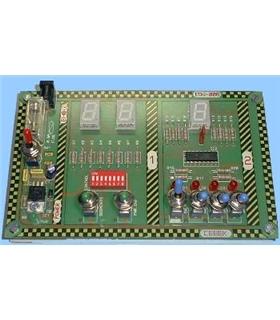 EDU-008 - Modulo Educacional Display Led - EDU-008