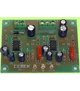 ES-1 - Amplificador Stereo 1.8W 4/14Vdc - ES-1