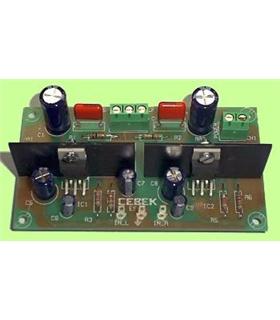 ES-2 - Amplificador Stereo 5W 6/16Vdc - ES-2