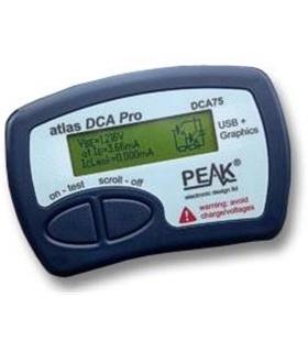 Analisador de Componentes Electrónicos USB Avançado DCA75 - DCA75