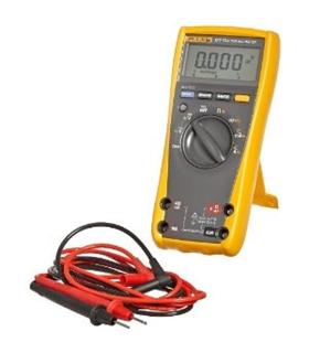 FLUKE177 - Multímetro digital TRMS Vac/dc, A ac/dc, Ohm - FLUKE177