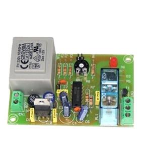 I136 - Temporizador Retardador 1s a 3m 230Vac - I-136