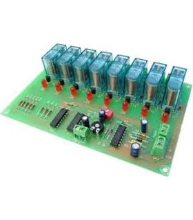 I-55 - Sequenciador 8 Saidas 12Vdc - I55