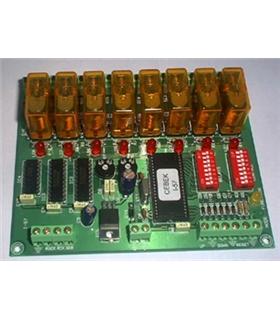I-57 - Sequenciador Ampliavel 8 Saidas 12Vdc - I-57